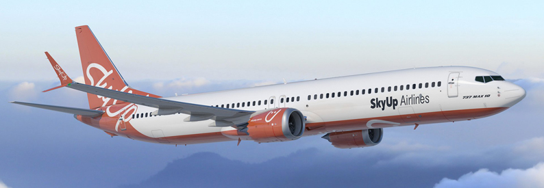 Illustration of SkyUp Airlines Boeing 737 MAX 10