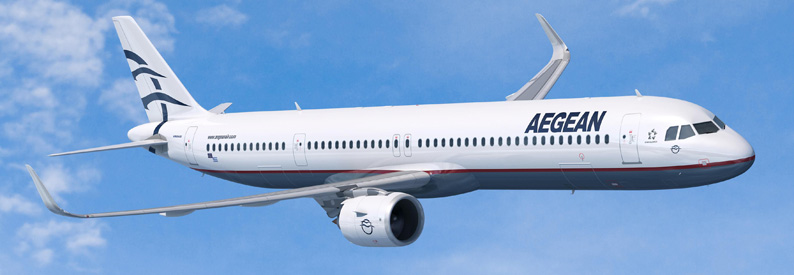 Illustration of Aegean Airlines Airbus A321-200NX