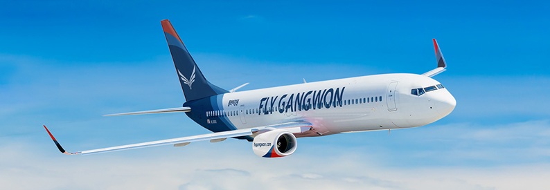 Illustration of FlyGangwon Boeing 737-800