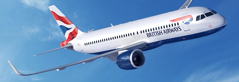 Illustration of British Airways Airbus A320-200neo
