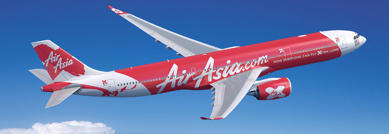 Illustration of AirAsia X Airbus A330-900N