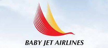 Logo of Baby Jet Airlines