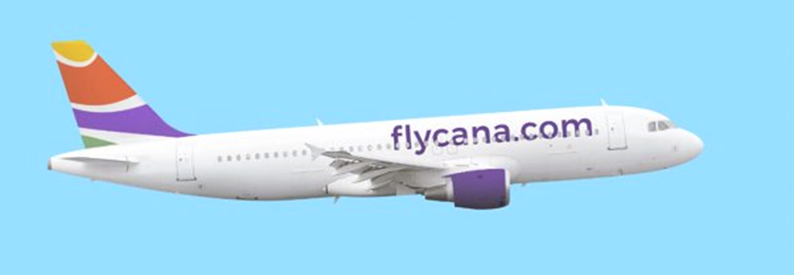 Illustration of flycana Airbus A320-200