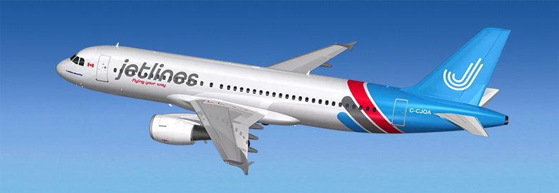 Illustration of Jetlines Airbus A320-200