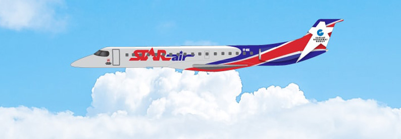 Illustration of Star Air (India) Embraer 145