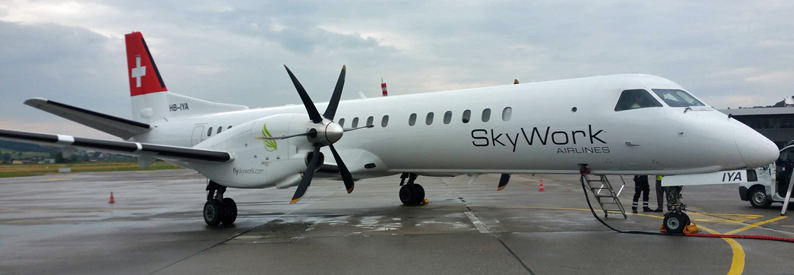 SkyWork Airlines Saab 2000