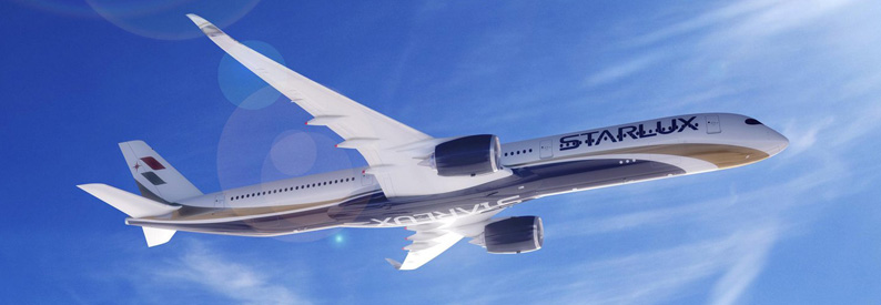 Illustration of Starlux Airlines Airbus A350-1000