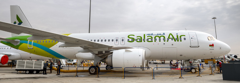 Illustration of SalamAir Airbus A320-200N