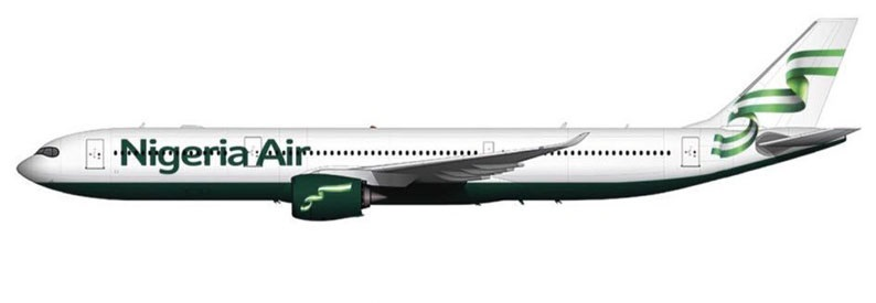 Illustration of Nigeria Air Airbus A330-900N