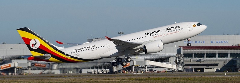 Illustration of Uganda Airlines Airbus A330-800N