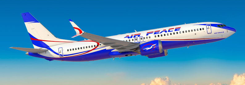 Illustration of Air Peace Boeing 737-8
