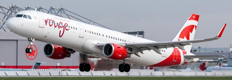 Air Canada rouge Airbus A321-200