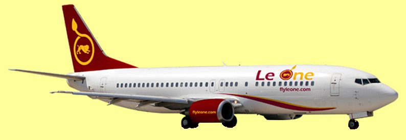 Illustration of Le One Boeing 737-400