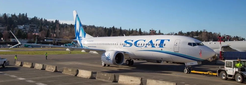 SCAT Airlines Boeing 737-8
