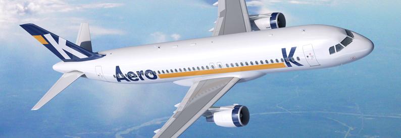 Illustration of Aero K Airbus A320-200