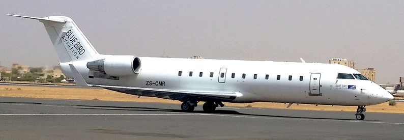 Blue Bird Aviation (Sudan) Bombardier CRJ100
