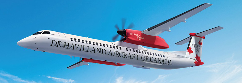 Illustration of De Havilland Aircraft of Canada DHC-8-400