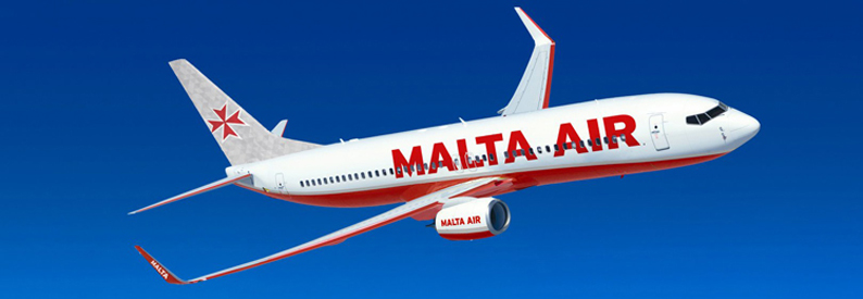 Illustration of Malta Air Boeing 737-800