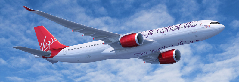 Illustration of Virgin Atlantic Airbus A330-900