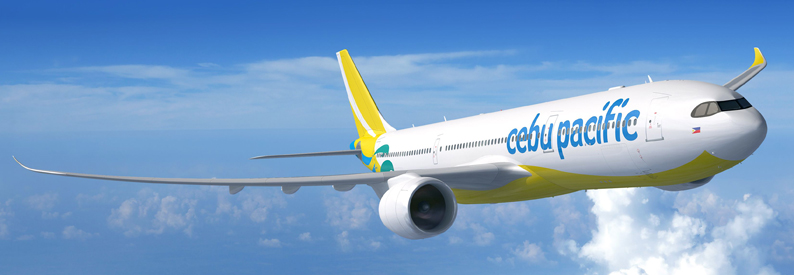 Illustration of Cebu Pacific Air Airbus A330-900