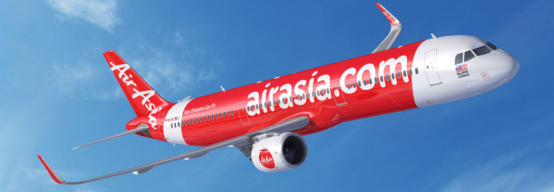 Illustration of AirAsia Airbus A321-200N