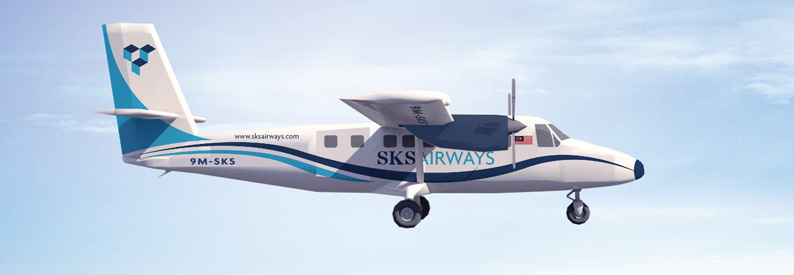 Illustration of SKS Airways DeHavilland DHC-6