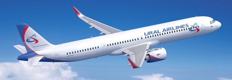 Ilustration of Ural Airlines Airbus A321-200NX