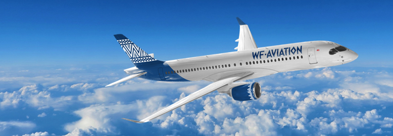 Illustration of WF Aviation Airbus A220-300