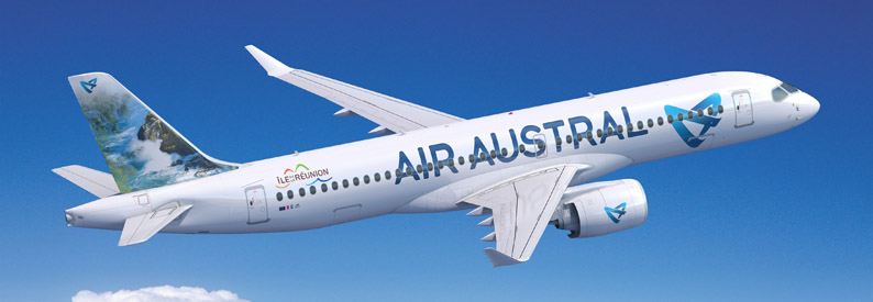 Illustration of Air Austral Airbus A220-300