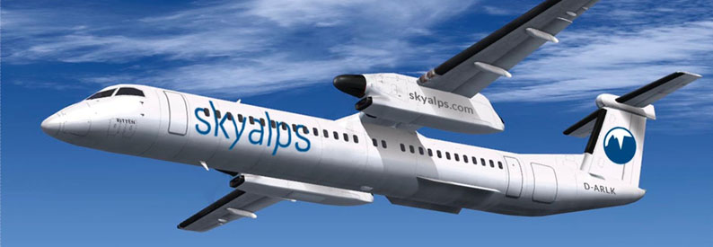 Illustration of Sky Alps De Havilland DHC-8-400
