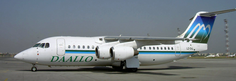 Daallo Airlines BAe 146-200