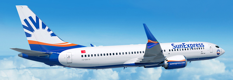Illustration of SunExpress Boeing 737-8