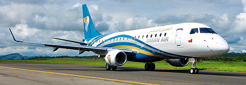 Oman Air Embraer 170-200