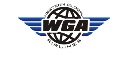 Logo of Western Global Airlines